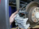 Installing Rear Brake Pads & Rotors on a 2000 Volkswagen Jetta