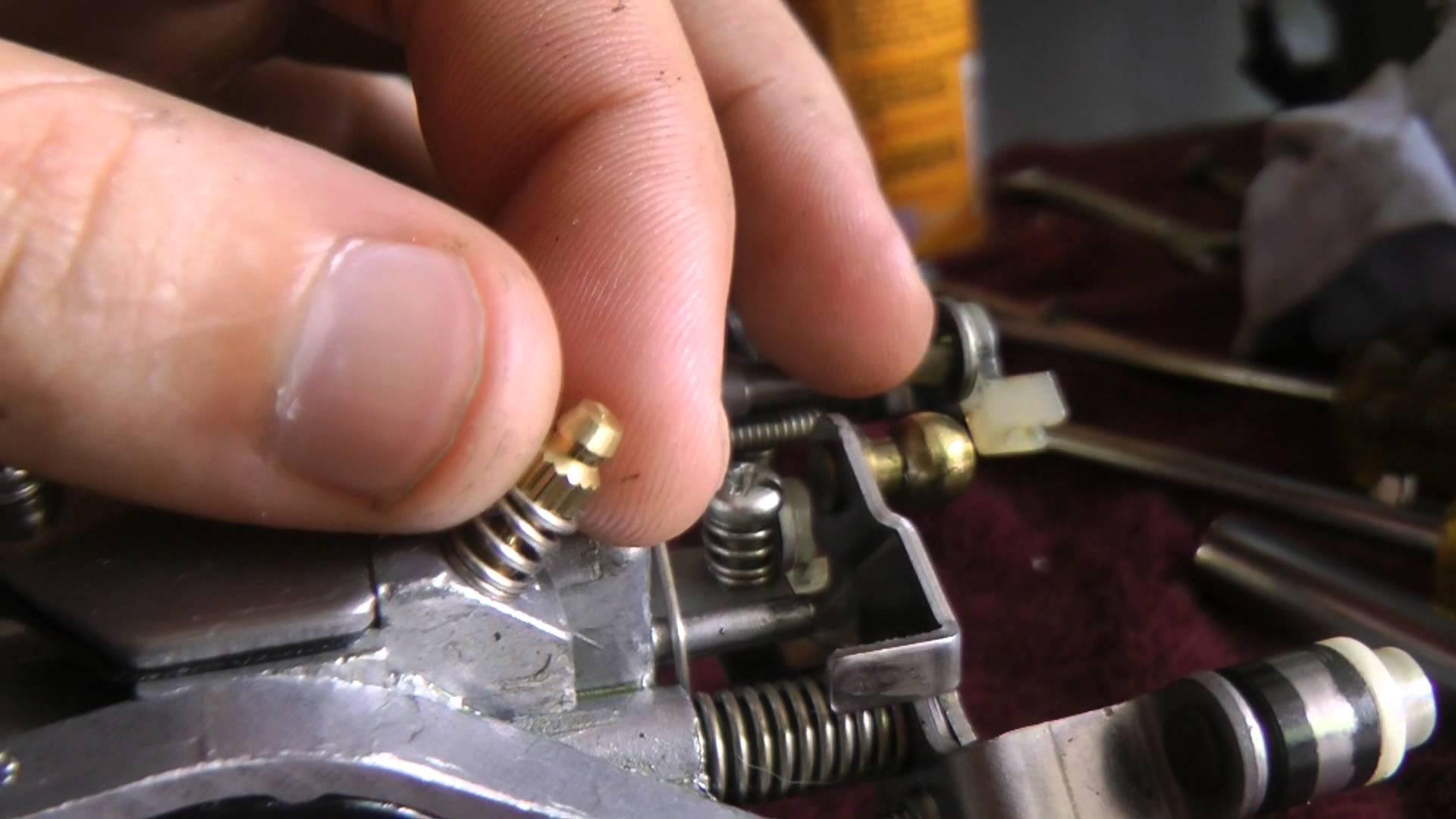Yamaha 25hp (25 hp) Carburetor Adjustment -